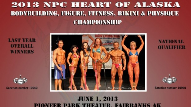 2013 NPC Heart of Alaska Fitness, Figure, Bikini, Physique and Bodybuilding Championships