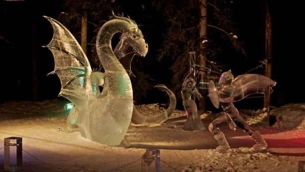 The 2014 BP World Ice Art Championships – February 24th – March 30th